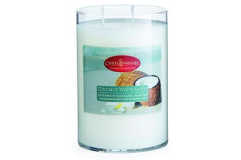 (Coconut White Sands, 650ml) - Candle Warmers Etc. Fresh Scents Collection, Coconut White Sands - 650mls