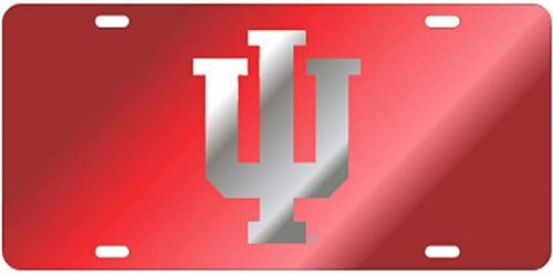 (LASER RED/SIL NEW IU LOGO TAG (15573)) - Indiana TAG Colour: LASER RED/SIL NEW IU LOGO TAG (15573) Indiana TAG