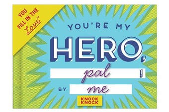 (Hero) - Knock Knock You're My Hero Fill in the Love Journal (50089)
