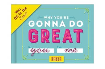 (Great) - Knock Knock Why You're Gonna Do Great Fill in the Love Journal