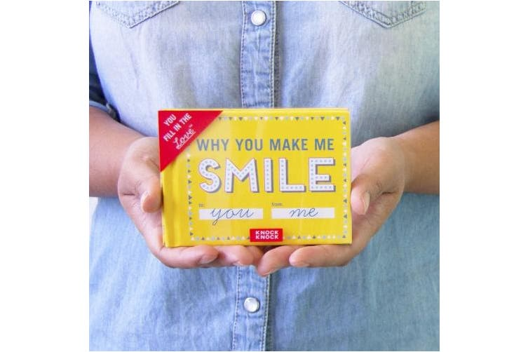 (Smile) - Knock Knock Why You Make Me Smile Fill In The Love Journal (50251)