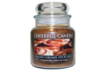 (470ml) - A Cheerful Giver Praline Caramel Sticky Jar Candle, 470ml