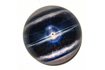(Planet_2) - Waltz & F Crystal Planet Paperweight Galss Globe Hemisphere Home Office Table Decoration