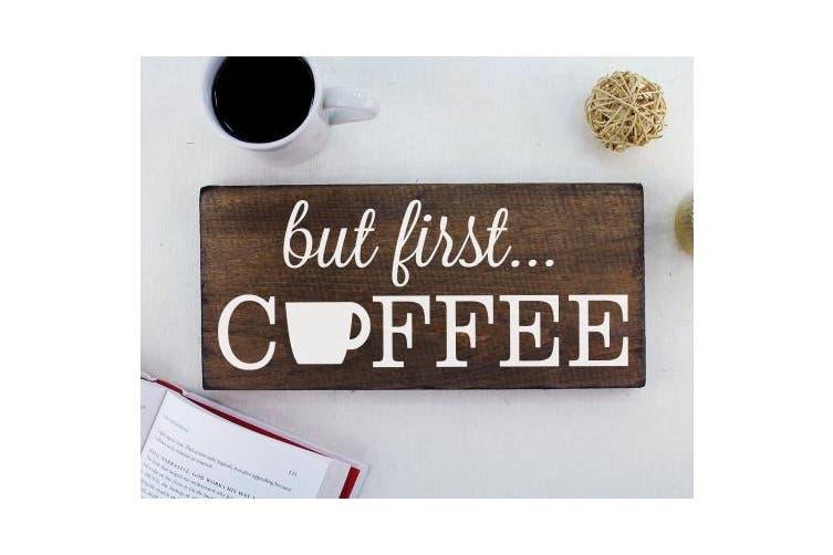But First Coffee Sign Rustic Kitchen Decor Kitchen Wall Decor Kitchen Signs Kitchen Wall Art Coffee Decor Kitchen Art Rustic Office Decor Matt Blatt