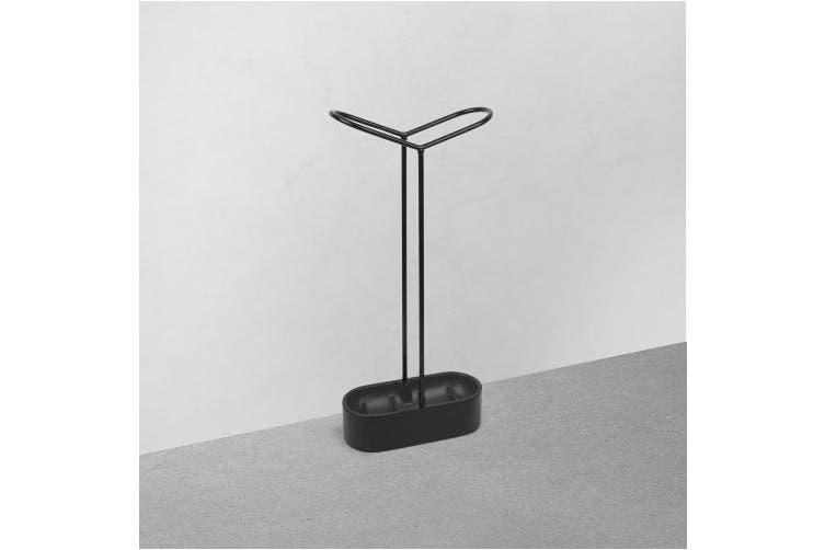 (Black) - Umbra Holdit Umbrella Stand, Black