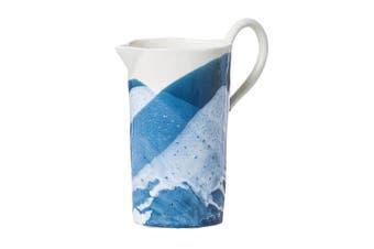 (Blue) - Abigails Splash Pitcher, 25cm by 27cm