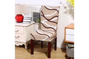 (1, Style 22) - Jiuhong Stretch Removable Washable Short Dining Chair Protector Cover Slipcover, Style 22, 1 Pack
