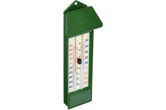 La Crosse Technology 10.3015.04 Maximum and Minimum Thermometer, Green