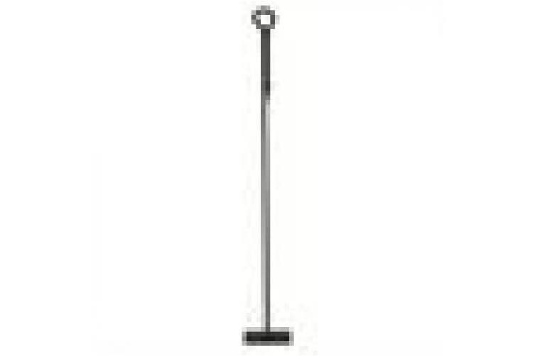 (Standard, Hoe) - Minuteman International Rope Design Hoe, Standard Single Fireplace Tool