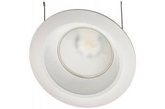 (15cm , 860 Lumens, 2700K- Warm White) - Lithonia Lighting 6BPMW HL LED 27K 90CRI M6 2.1cm 10W White High Output LED Recessed Baffle Module, 2700K