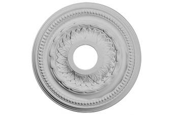 (Whole) - 40cm OD x 8.3cm ID x 2.5cm P Galway Ceiling Medallion (Fits Canopies up to 8.3cm )