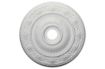 (Whole) - 60cm OD x 9.8cm ID x 5.1cm P Logan Ceiling Medallion (Fits Canopies up to 16cm )