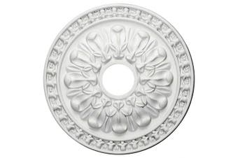 (Whole) - 46cm OD x 8.9cm ID x 3.5cm P Warsaw Ceiling Medallion (Fits Canopies up to 8.9cm )