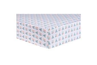 Trend Lab Aztec Tepee Fitted Crib Sheet, Multi