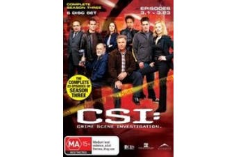 CSI Season 3  [6 Discs] [Region 4]