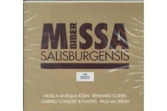 Biber: Missa Salisburgenis /Musica Antiqua Koln * Goebel * Gabrieli Consort & Players * McCreesh