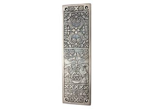 Adonai Hardware Melchizedek Decorative Brass Push Plate