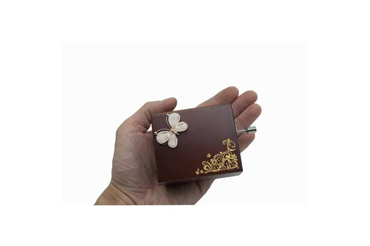 (Bullerine) - Mini Handcrank Music Box Tune of Fur Elise(Ballerine)