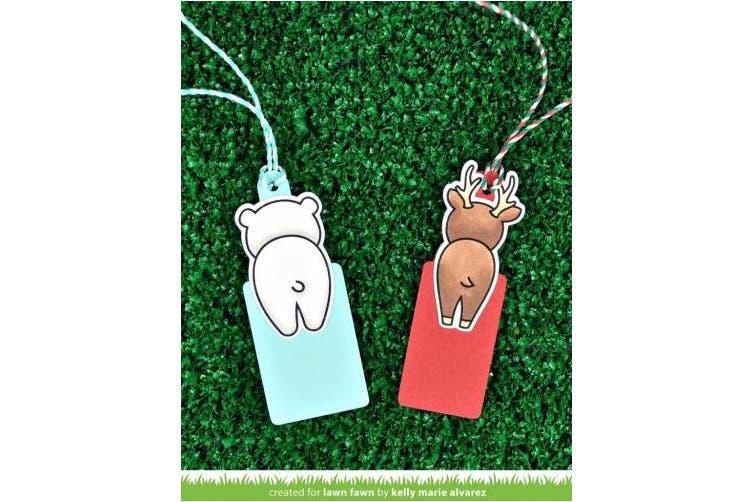 Lawn Fawn - For You Deer - Stamp, Die and Add-On Die Set - 3 Item Bundle