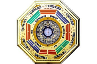 (middle) - Chinese Feng Shui Compass Bagua Mirror (middle)