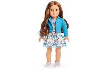 American Girl - 2017 Truly Me Doll: Light Skin, Wavy Red Hair, Green Eyes DN61