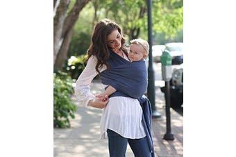 (Vintage Blue) - Boba Baby Wrap Carrier - Original Child and Newborn Sling (Vintage Blue)