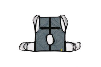 One Piece Commode Patient Lift Sling with Positioning Strap, Size Medium, 270kg Weight Capacity