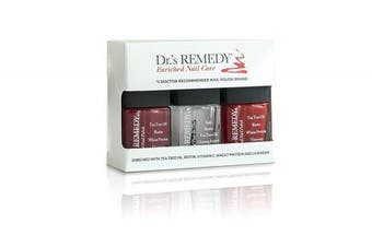 Dr.'s REMEDY Trio Collection, Red/Brick Red, 1 Fluid Ounce