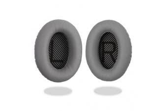[REYTID] Bose QuietComfort 15 / QC15 / QC2 Headphones GREY Replacement Ear Pads Cushion Kit - 1 Pair Earpads