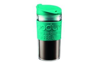(Acrylic Travel Mug, Turquoise) - Bodum 11103-159B Travel Mug, 0.35 L350ml, Turquoise