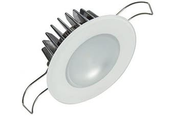 (Glass Housing, Warm White Dimming) - Lumitec LED Exterior or Interior Down Light, Flush Mount, High Output, Slim Profile