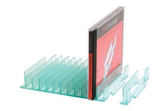 CD Storage Rack - alphabetical CD organiser (20 capacity)