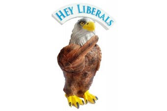 "Trump Eagle Bobble "" FU Liberals "" & "" My USA "" BOBBLING Middle Finger BobbleHead New in Box BobbleFinger Patriotic American Flag Toy Doll"