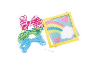 (1 PACK) - Sew Cute! Rainbow Needlepoint Kit