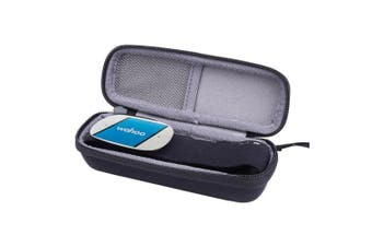(Black) - Hard Case for Wahoo TICKR/ TICKR X Heart Rate Monitor by Aenllosi