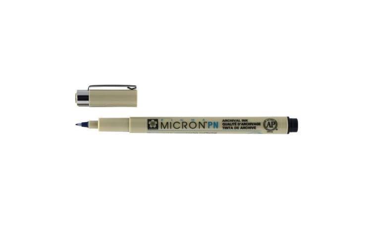 Sakura Pigma Micron PN Pen, 0.4–0.5 mm Line Width, Black (XSDK-PN-49)