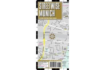 Streetwise Munich Map - Laminated City Center Street Map of Munich, Germany (Michelin Streetwise Maps)