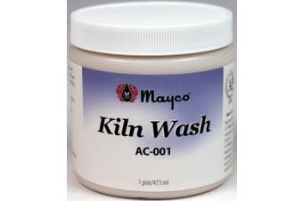 Kiln Wash AC-001, Ready To Use Liquid, Pint Jar, Made In USA