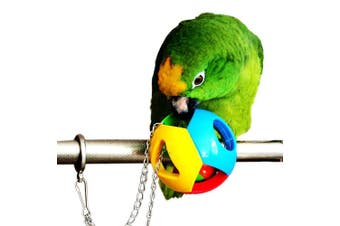 (Shape) - Alfie Pet by Petoga Couture - Drew Hanging Ball Toy with Bell for Birds