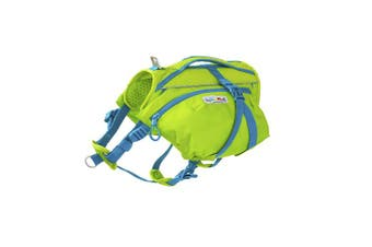 (Small / Medium) - Crest Stone Explore Dog Backpack Hiking Gear For Dogs by Outward Hound