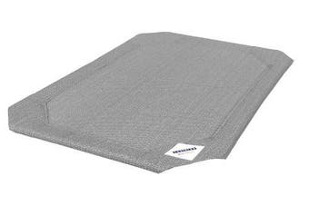 (Medium, Grey) - Coolaroo Replacement Dog Bed Cover - Grey