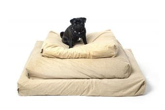 (Large) - One For Pets Piddle-Proof Dog Bed Protector - Tan