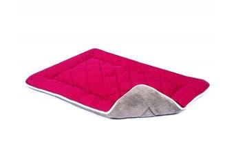 (Large, Berry) - Dog Gone Smart Bed Sleeper Cushion