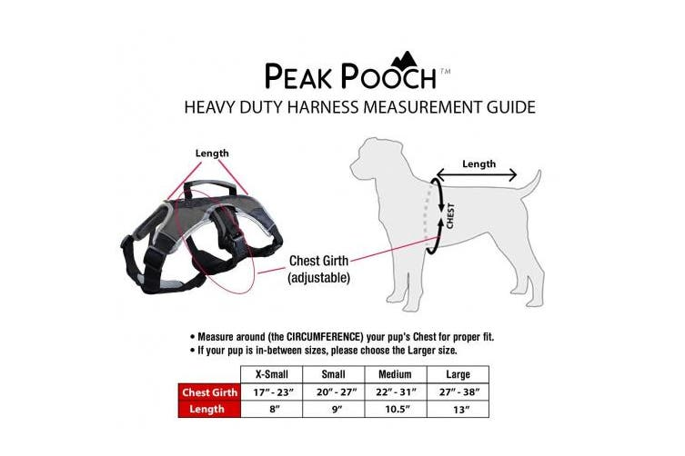 (Small (50cm  - 70cm  chest), Red) - Dog Walking Lifting Carry Harness, Support Mesh Padded Vest, Accessory, Collar, Lightweight, No More Pulling, Tugging or Choking, for Puppies, Small Dogs (Sizes: X-Small, Small, Medium & Large)