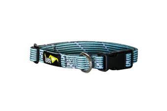 (Medium) - 5280DOG Turquoise Braided Collar