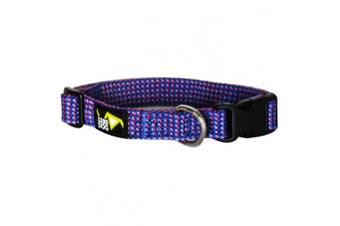 (Medium) - 5280DOG Royal Blue Braided Collar