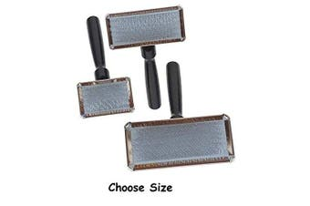 """(Small - 2½""""L x 1½""""W) - Slicker Brushes for Dogs # 1 All Systems Pro Dog Grooming Brush - Choose Size"""