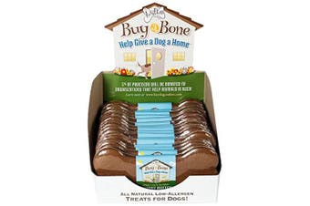 The Lazy Dog 15cm Buy a Bone Help Give a Dog a Home Peanut Butter Cookies, 70ml
