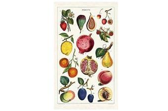 Cavallini Papers Fruit Vintage Cotton Tea Towel