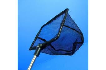 Aquarium Adjustable Fish NET 9.9cm x 7cm Fine Mesh Stainless steel handle Shrimp